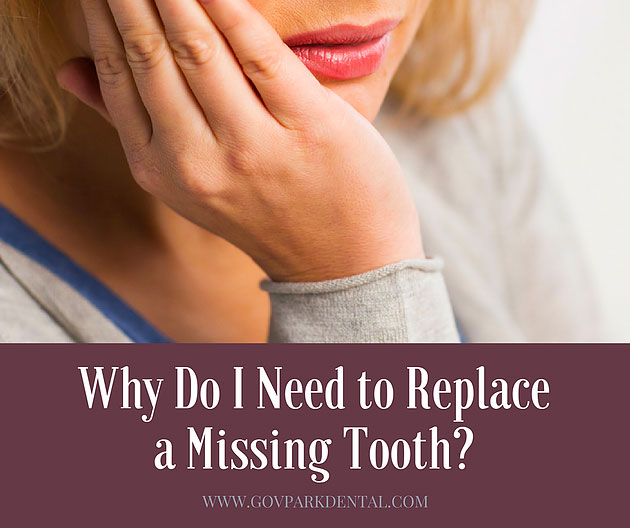 The Need to Replace Missing Tooth